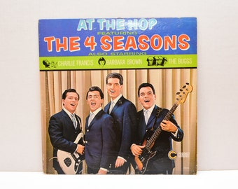 At the Hop featuring The 4 Seasons  1960's  Record Album