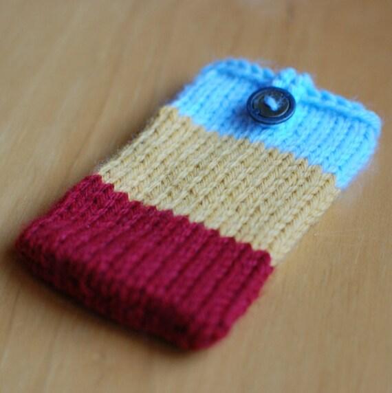 color block pouch