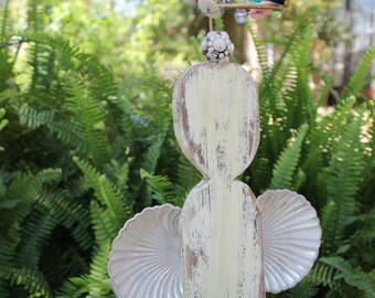 Angel Garden Yard Art Reclaimed Old Fence Picket