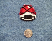 Super Mario World Red Shell Iron On Patch