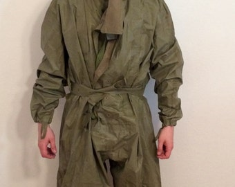 Vintage Military Anti Chemical Suit