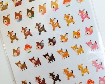 Mini Deer Sticker - One Point Seal