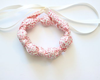 SPECKLED Nursing Necklace / Teething Necklace / Brestfeeding Necklace / Fabric Teething Necklace / Baby Shower Gift /Chewelry/ Ready to Ship
