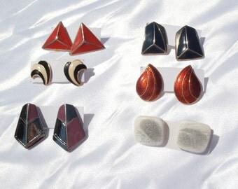 Vintage Earring Lot, Destash Earrings, Bulk Earrings, Assorted Earrings, Clearance Earrings, Estate Style, Costume Jewelry Lot
