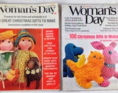 Woman's Day Magazine - November 1966 & 1967, group of 2