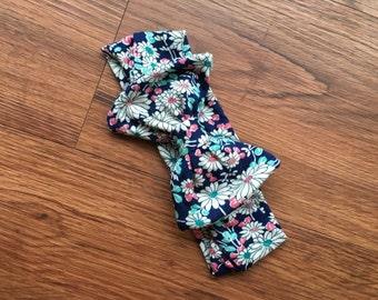 Floral Stretch Bow Headband