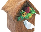 Birdhouse Tissue Box Cover Sample Model for Sale