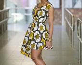 Ankara Rebekah dress by GITAS Portal