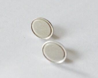 SALE Vintage Sterling Silver Lamode Sterling Textured Pierced Post Earrings