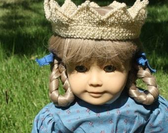 "American Girl Princess Crown - 18"" Doll Crown - Ready to Ship!"