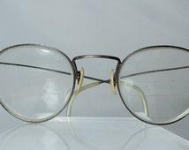 Oliver Peoples Vintage Full Frame Prescription Eyeglasses Designer Retro Engraved Rims OP - 69 BR Vintage Glasses Eyewear DanPickedMinerals