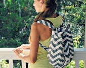 DIY backpack pattern by Trash to Couture