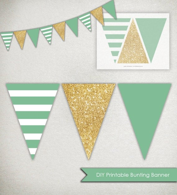 how to make triangle banner