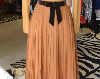 COPPER BROWN miss elliette GOWN maxi formal dress 2 4