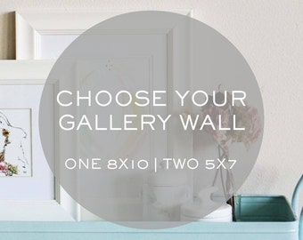 CHOOSE your gallery wall - ANY Print - 3 prints included