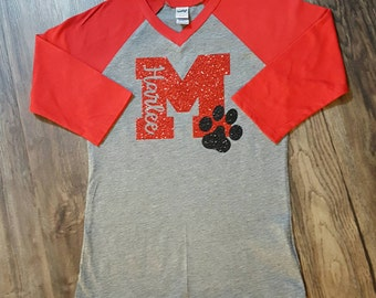 School spirit shirt etsy for School spirit shirts designs