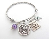 Physical Therapist Gift, Physical Therapist bracelet, Gifts for PT, PTBangle, Thanks for making a difference in my life, PT Thank you Gift