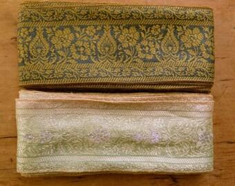 Vintage Sari borders, Sari Trim SR344