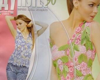 Crochet patterns magazine DUPLET 90