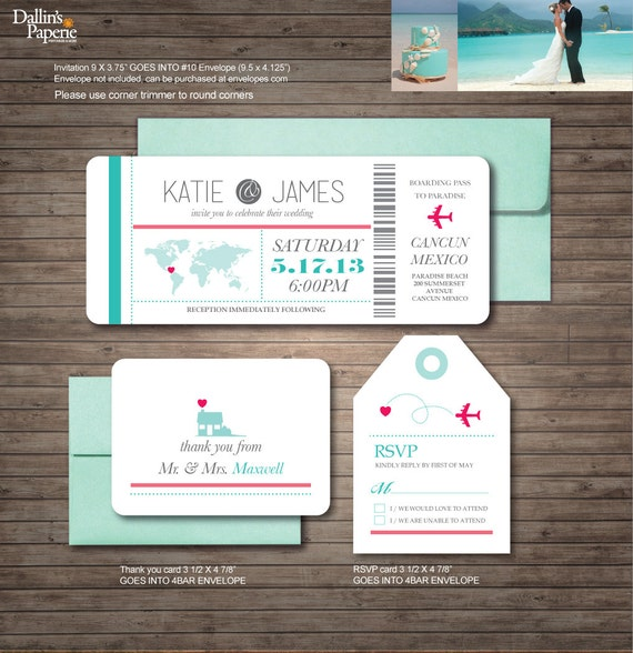 Destination Wedding Invitation Printables Beach Wedding Map