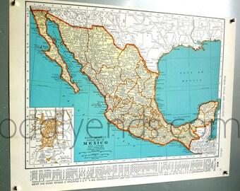 1939 Mexico Atlas Map