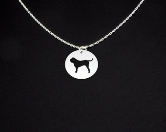 Neapolitan Mastiff Necklace - Neapolitan Mastiff Jewelry - Neapolitan Mastiff Gift