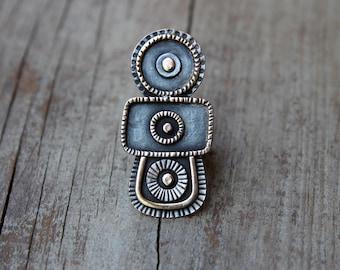 Bronze Totem ring
