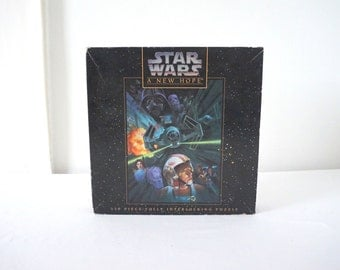 Vintage Star Wars A New Hope Episode IV Jigsaw Puzzle