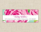 Return Address Labels. Return address label sticker. Custom address label