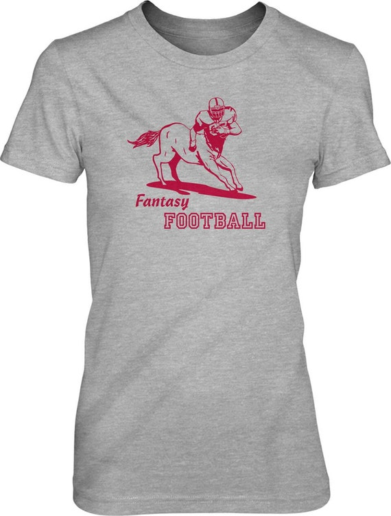 Womens fantasy football centaur t shirt cool shirt for for Cool football t shirts