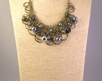 Mermaid Necklace, Gypsy Necklace, Fairy, Faerie Necklace