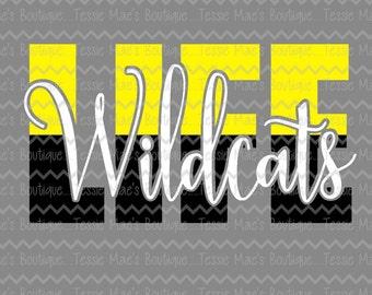 Wildcats Life, SVG, DXF, EPS, Instant Download, Digital Design, Mascot, Sports, Wildcats, Life, Football, Baseball, Basketball, Soccer