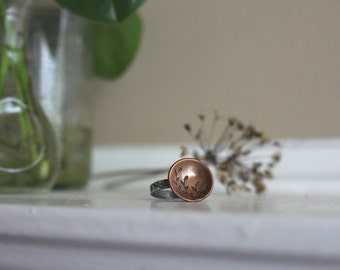 New Growth Vignette Ring
