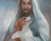 Jesus with a Beagle