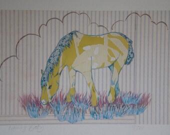 goldy pony