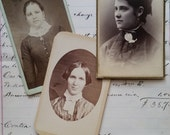 Victorian Cabinet Card Lot | Photography | 1800's Women