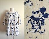 Vintage Disney Originals Mickey Mouse T-shirt, Rare Deadstock 80s Mickey Tee, Unisex, L/XL