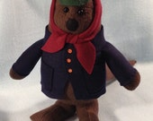 Emmet Otter Doll - Made to Order