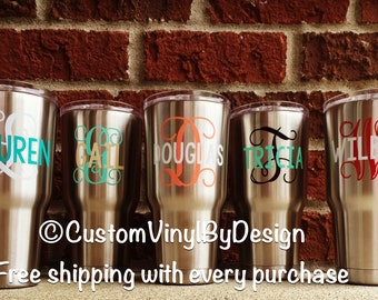 """Shop """"personalized yeti tumbler"""" in Kitchen & Dining"""
