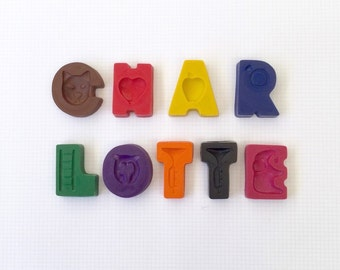 9 Letter Name Crayons - Personalised