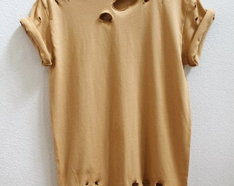 Distressed Nude Unisex Shirt S-5XL