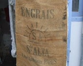 Antique Grain Sacks. Deco...
