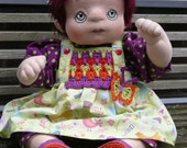 Reserved for Lila! Mia, Soft cloth doll, fabric doll, Waldorf inspired doll