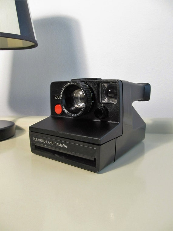 polaroid camera land camera 2000 polaroid polatriplet rare. Black Bedroom Furniture Sets. Home Design Ideas