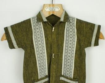 Vintage Kids 70's Ethnic Shirt