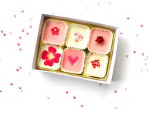 LOVE Luxury Bath Melt Gift Box -  Box of 6