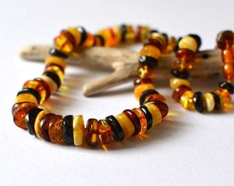 Natural Amber Necklace, amber jewelry, amber gift, Baltic amber