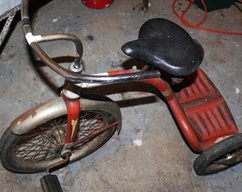 SALE! Amazing Siebeat Vintage 1930's Tricycle