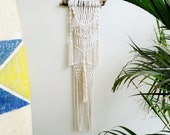 Macrame Wall Hanging, Wall Art, Modern Macrame, Textile Art Home Decor, Small Bohemian Decor