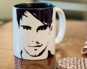 Cory Michael Smith - Edward Nygma - Riddler - Gotham - Hand Pronted Cup